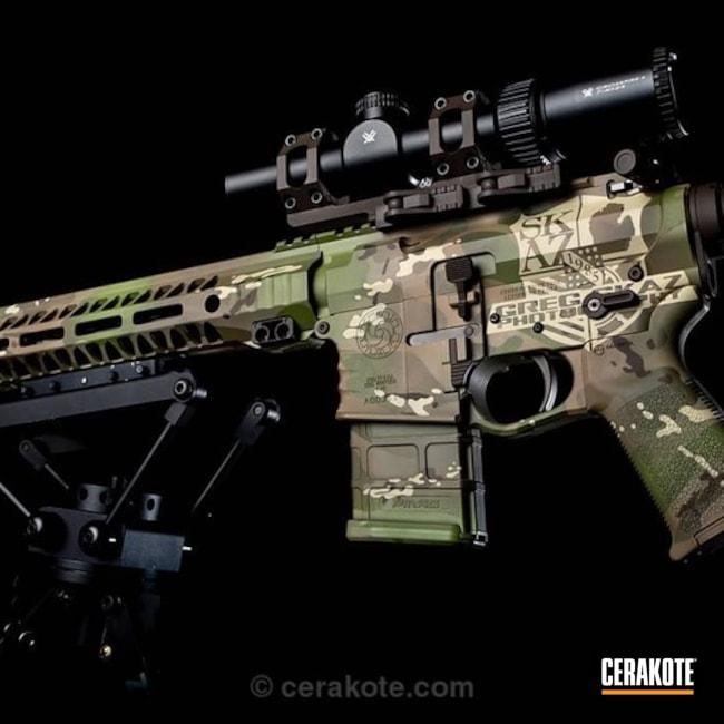 Cerakoted: Cross Machine Tool,FS BROWN SAND H-30372,HAZEL GREEN H-204,MAGPUL® FLAT DARK EARTH H-267,MultiCam,Desert Sand H-199,Tactical Rifle,MultiCam Traditional,Chocolate Brown H-258,AR-15