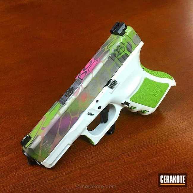 Custom Cerakoted Glock 30S
