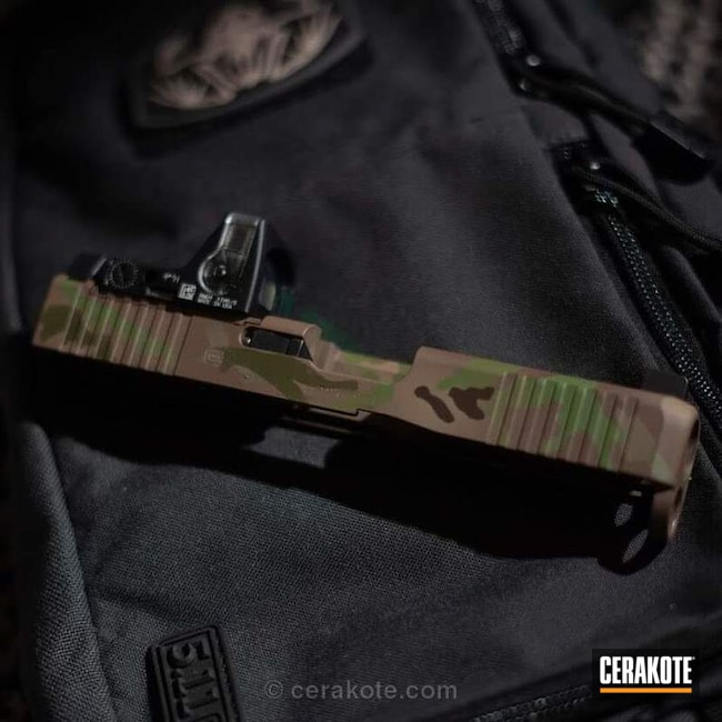 MultiCam Glock Slide
