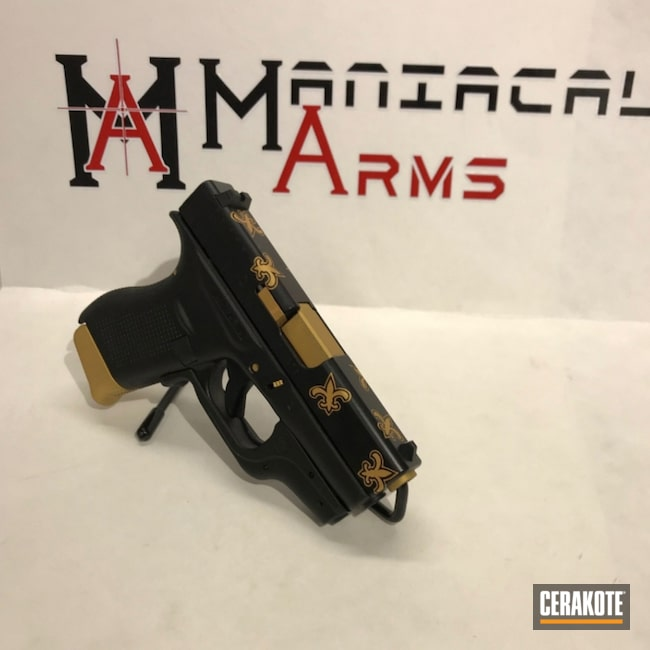 New Orleans Themed Glock 42 Handgun