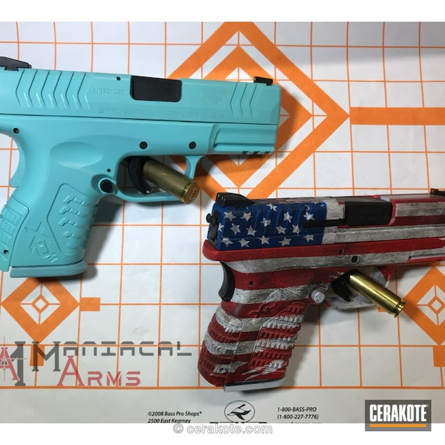 "Thumbnail image for project ""Custom Coated Springfield XD Handguns"""