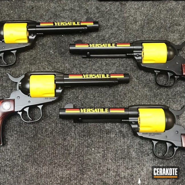 Matching Themed Revolvers