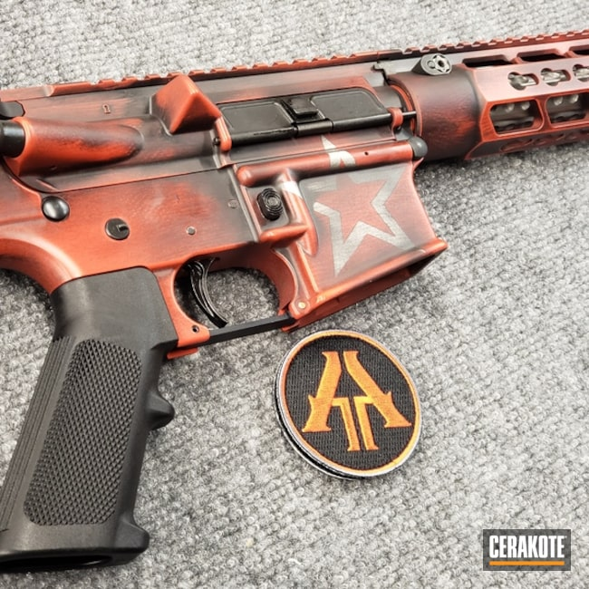 "Thumbnail image for project ""Battleworn Anderson Mfg. AR-15"""