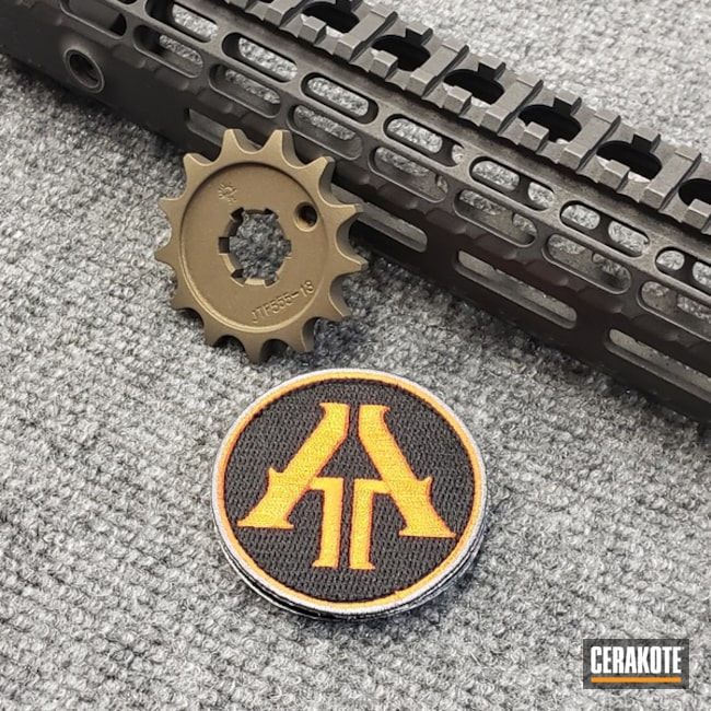 Thumbnail version of the 2nd project picture. Graphite Black H-146Q, Distressed, Not Just Guns, Burnt Bronze H-148Q, Tungsten H-237Q, Steampunk, Sprocket