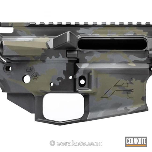 Cerakoted: Aero Precision,Sniper Grey H-234,Builderset,AR15 Builders Kit,Graphite Black H-146,Mil Spec O.D. Green H-240,Upper / Lower / Handguard,Custom Camo