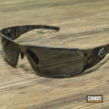 Cerakoted Multicam Gatorz Sunglasses