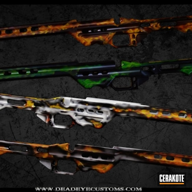 "Thumbnail image for project ""Realistic Fire Coated Rifle Stocks"""