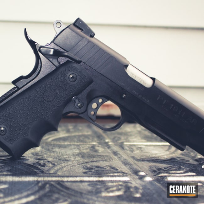 "Thumbnail image for project ""Taurus 1911 Handgun done in H-146 Graphite Black"""
