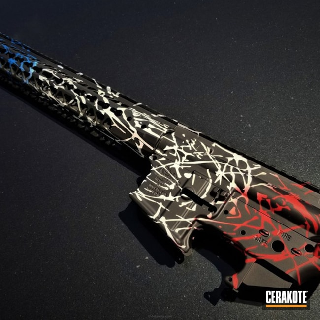 Anderson Mfg. Rifle in a Custom Cerakote Finish