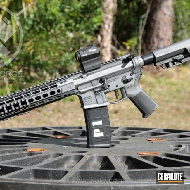 Cerakoted: Aero Precision,Cerakote Elite Series,Battleworn,Battleforged,Graphite Black H-146,Tactical Rifle,Satin Aluminum H-151,Elite Titanium,Concrete E-160,Concrete E-160G,SBR,AR-15