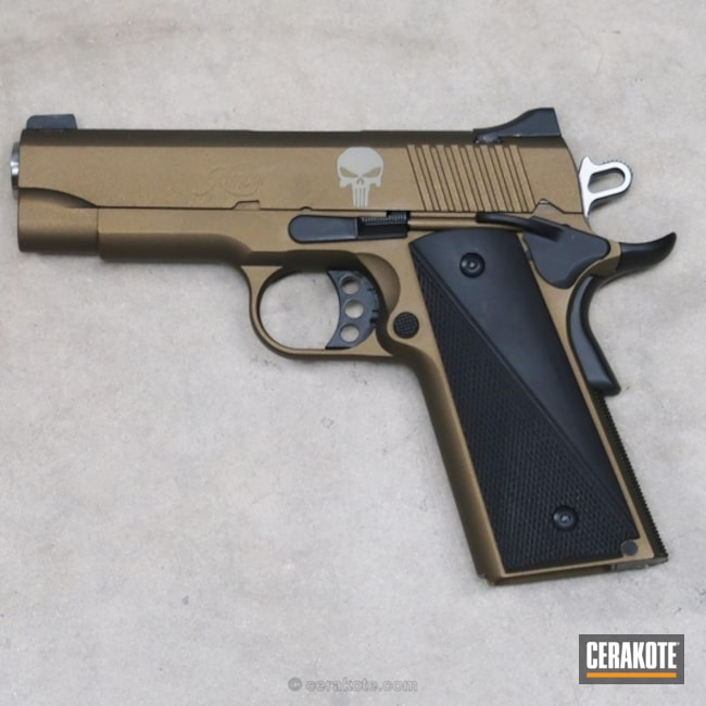 "Thumbnail image for project ""Pistol done in H-148 Burnt Bronze and H-146 Graphite Black"""