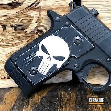 Cerakoted Punisher P238 Grips