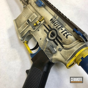 Cerakoted Custom Coated Dpms Panther Arms Rifle