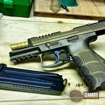 Cerakoted Two Toned Hkvp9 Handgun