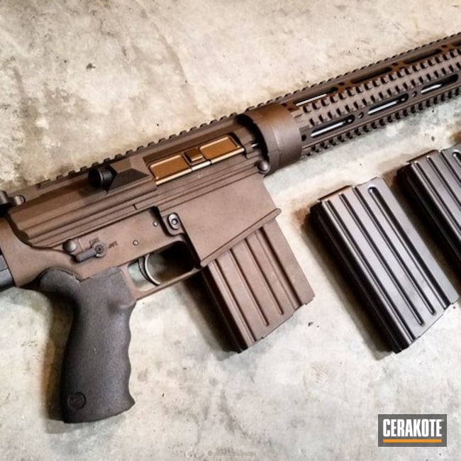Custom Coated DPMS Rifle