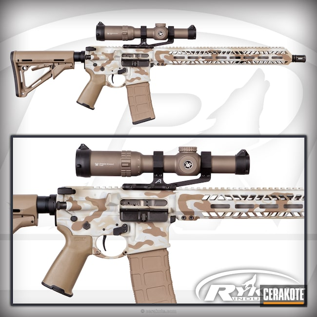 "Thumbnail image for project ""AR-15 In Desert Camo"""