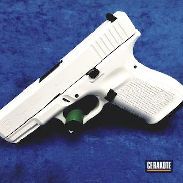 Cerakoted Stormtrooper White Glock 19