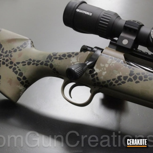 Remington 700 in Custom Camo