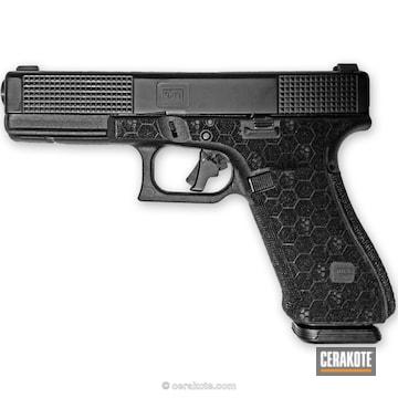 Cerakoted Glock 17 In Graphite Black