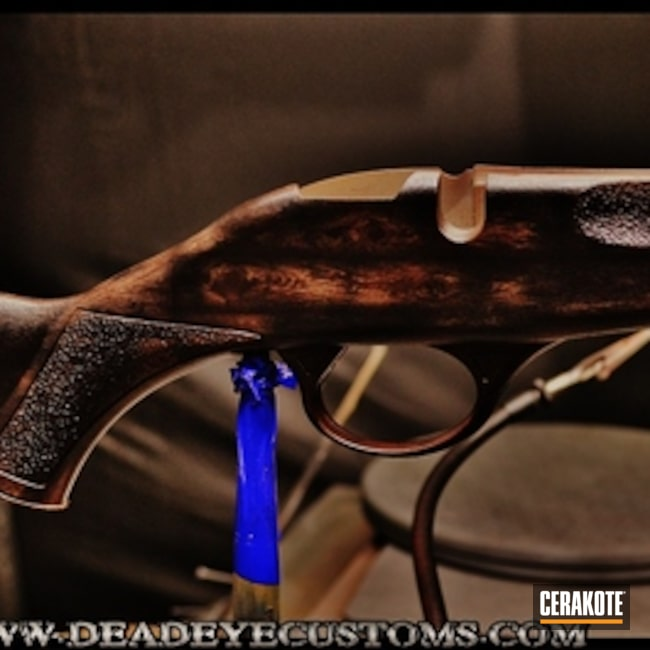 "Thumbnail image for project ""Custom Mix for a Rifle Stock"""