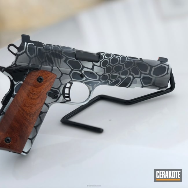 Snow Camo Kryptek 1911