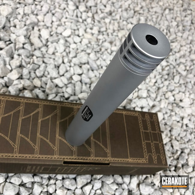 Cerakoted Silencerco Suppressor