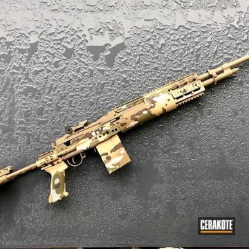 Cerakoted Multicam Rifle
