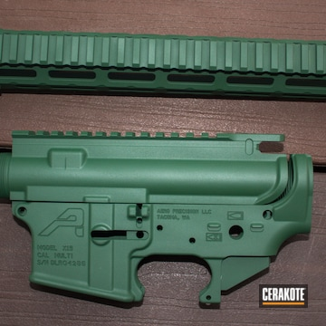 Cerakoted Ar Parts In Jesse James Eastern Front Green