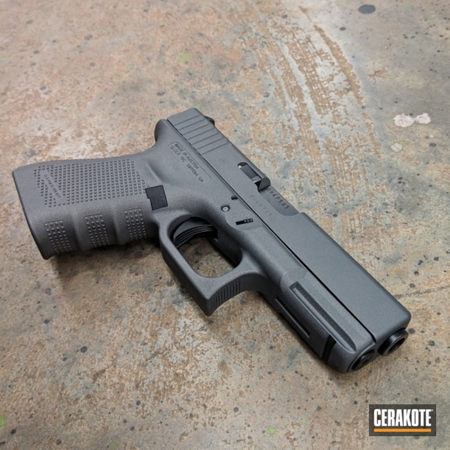 Cerakoted: Glock 19,Glock,Tactical Grey H-227
