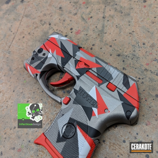 Ruger LCP II in Splinter Camo