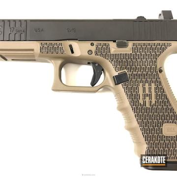 Cerakoted Magpul Fde And Graphite Black Glock 17