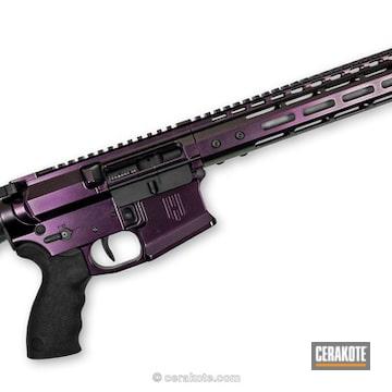 Cerakoted Bling/glitter Ar-15