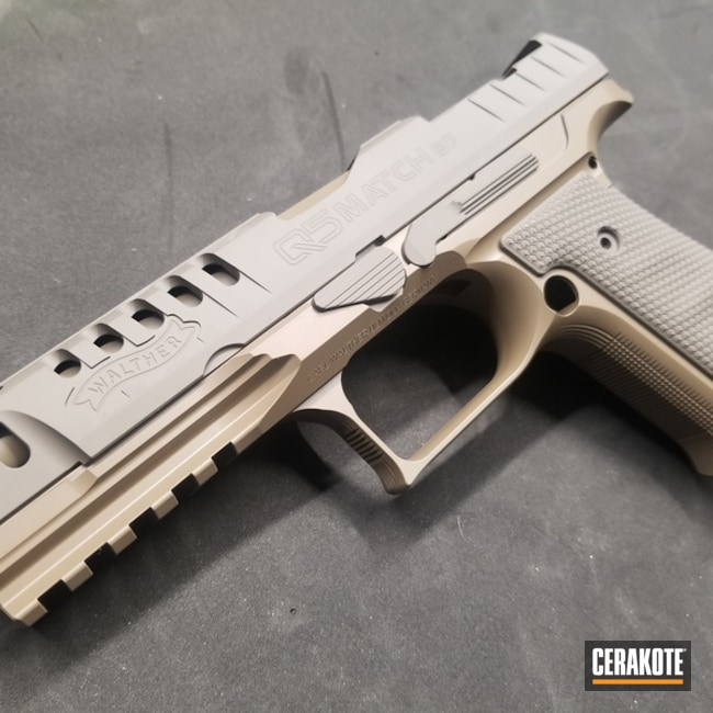 "Thumbnail image for project ""Cerakote Earth and Coyote M17 Walther Q5 Match Handgun"""