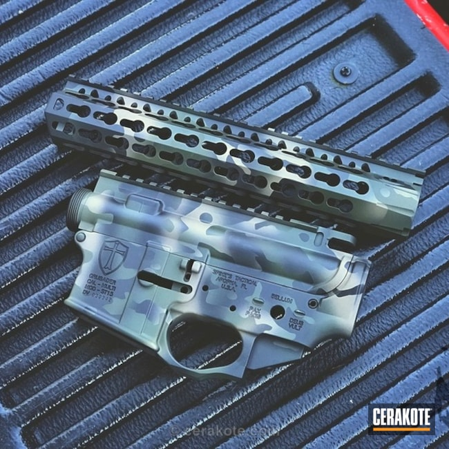 MAD Land Camo on this Upper / Lower / Handguard