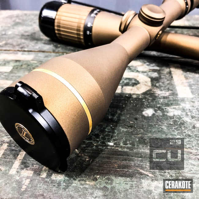"Thumbnail image for project ""Burnt Bronze Leupold Scope"""