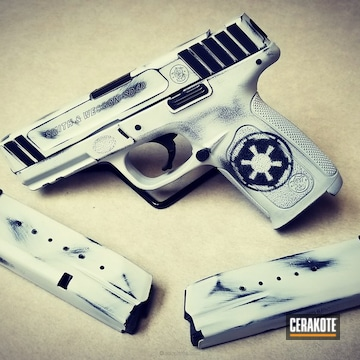 Cerakoted Star Wars Themed Smith & Wesson Handgun