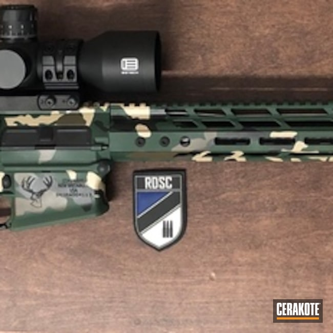 "Thumbnail image for project ""Stag Arms Tactical Rifle in a Custom MultiCam Finish"""