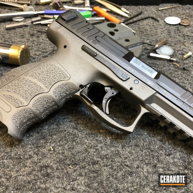 "Thumbnail image for project ""HK Pistol in a Cerakote H-237 Tungsten Finish"""