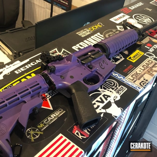Tactical Rifle in H-217 Bright Purple