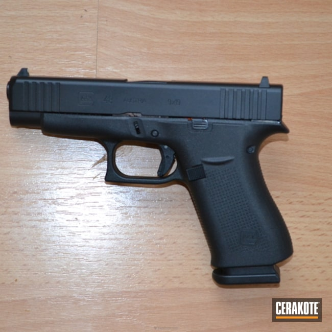 "Thumbnail image for project ""Glock 48 done in Cerakote Graphite Black"""