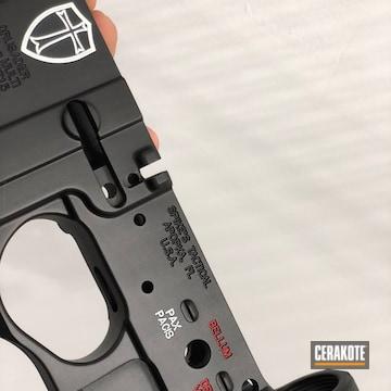 Cerakoted Custom Engraved And Cerakoted Lower Receiver