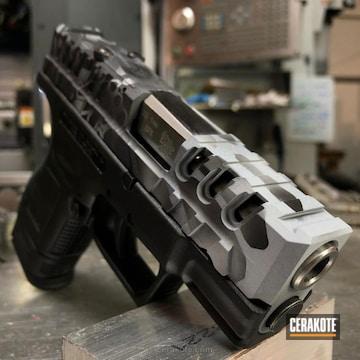 Cerakoted Kryptek Springfield Xd Handgun