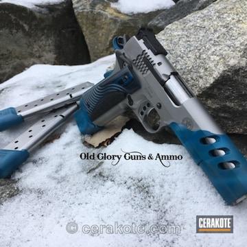 Cerakoted Smith & Wesson 1911 In A Custom Cerakote Finish