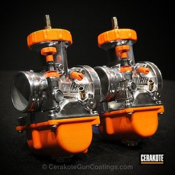 Cerakoted Mc-156 High Gloss Micro Clear With H-243 Safety Orange