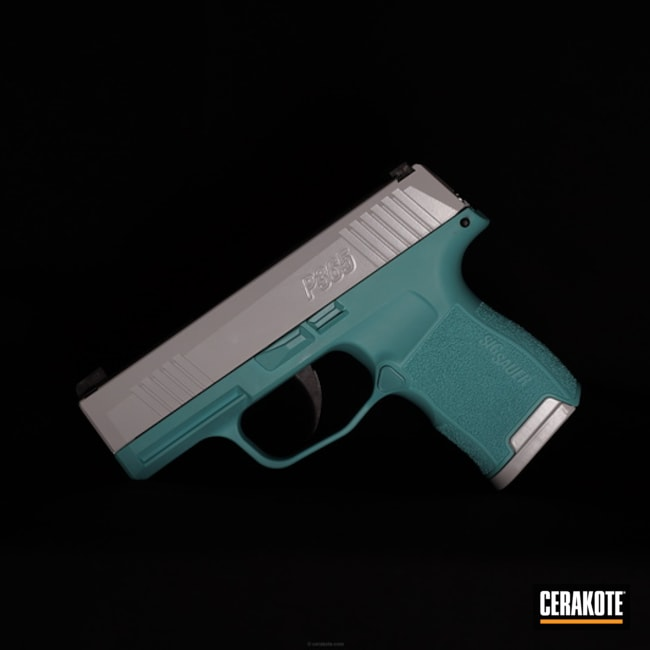 "Thumbnail image for project ""Two Toned Sig P365 Handgun"""