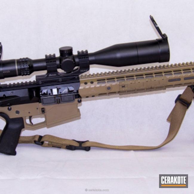 Cerakoted: Aero Precision,6.5 Creedmoor,MAGPUL® FLAT DARK EARTH H-267,MagPul,AR-10,Magpul PRS,Veracity,Burris,Tactical Rifle,Prs,6.5,80% Lower