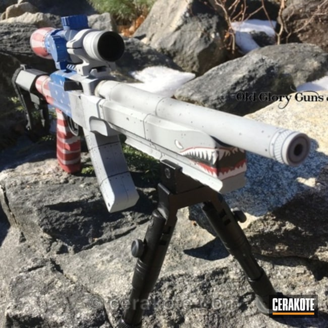 Cerakote War Plane Themed Ruger 22lr Rifle