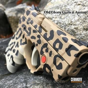 Cerakoted Cheetah Print M&p Bodyguard 380