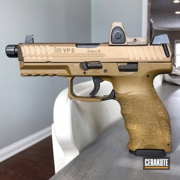 Cerakoted Milled And Cerakoted The Slide For An Rmr