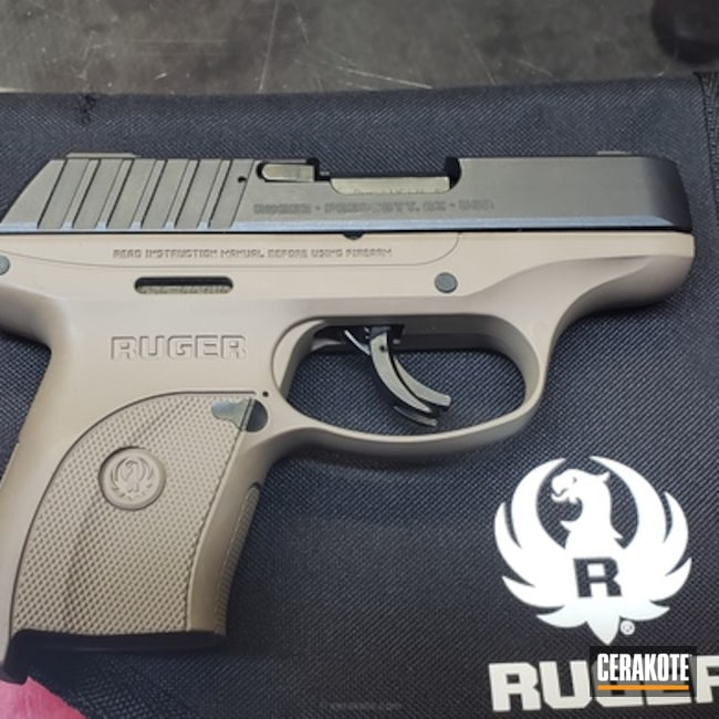"Thumbnail image for project ""Ruger EC9 done in Cerakote H-267 MagPul FDE"""